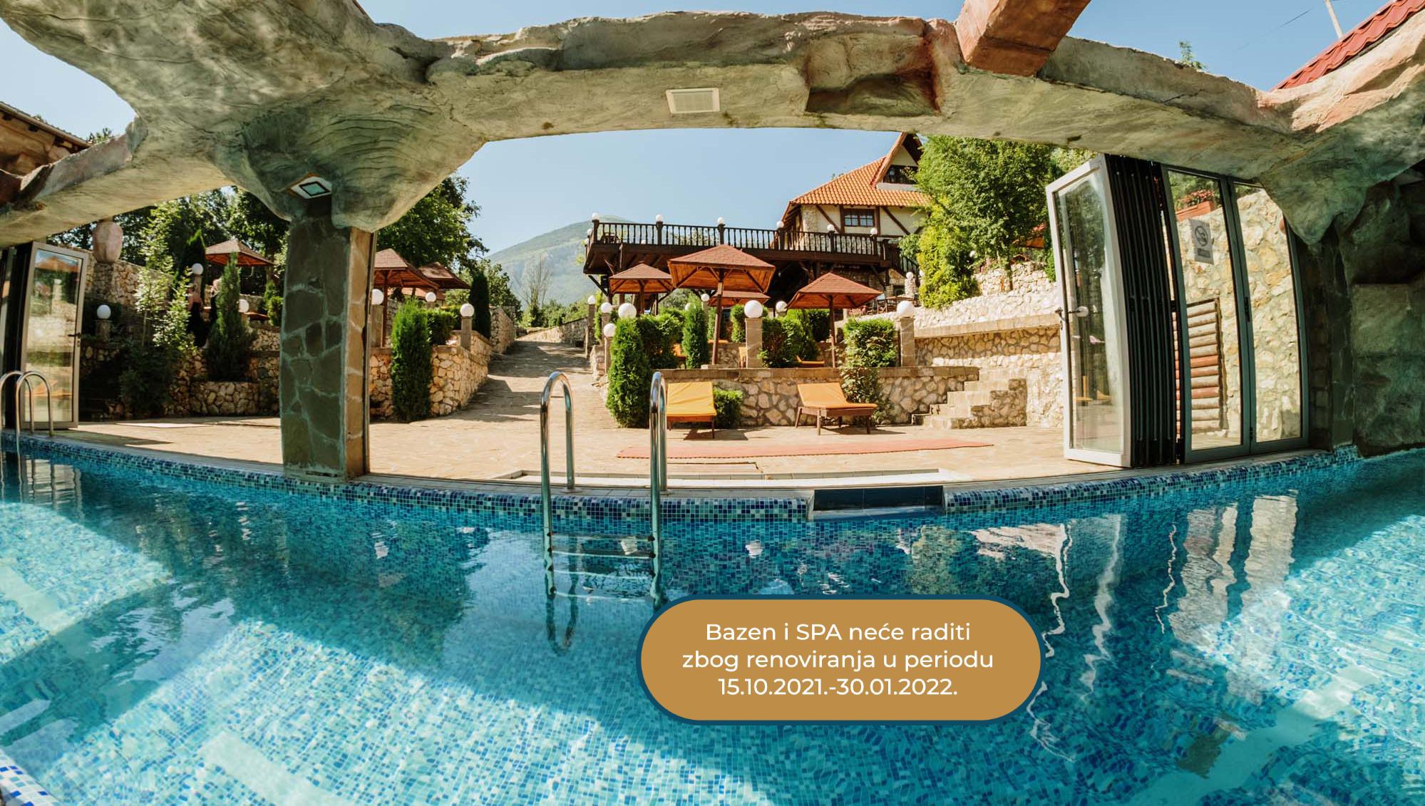 Egzotični bazen za sve vremenske prilike