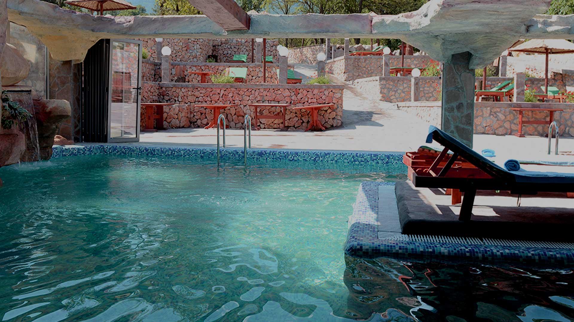Egzotican bazen za sve vremenske prilike