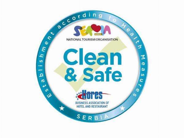 """Sertifikat """"Clean & Safe"""""""